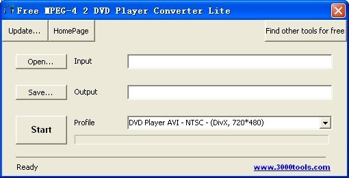 Free MPEG-4 2 DVD Player Converter Lite Download