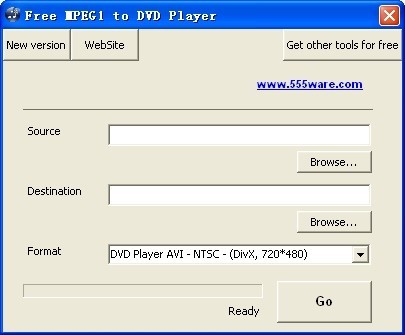 Free MPEG1 to DVD Player Download