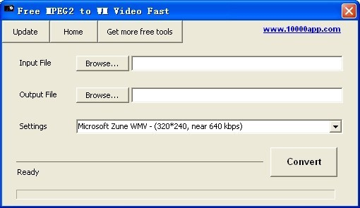 Free MPEG2 to WM Video Fast Download