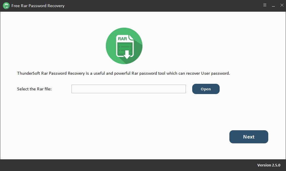 Free RAR Password Recovery Download