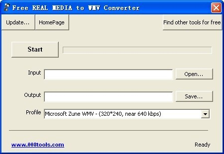 Free REAL MEDIA to WMV Converter Download
