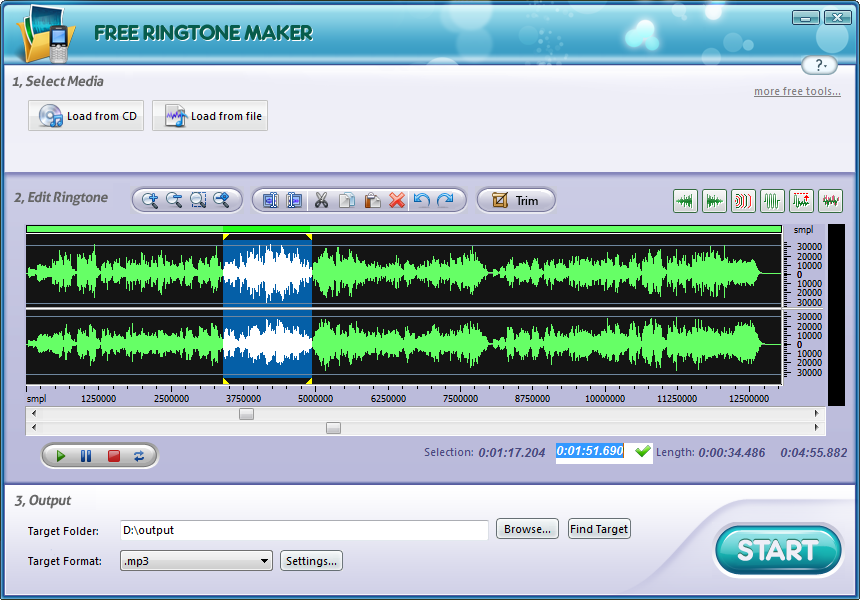 Free Ringtone Maker Platinum Download