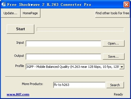 Free Shockwave 2 H.263 Converter Pro Download