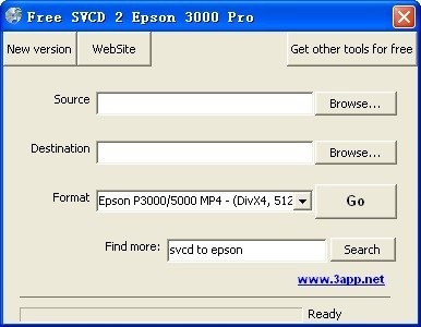 Free SVCD 2 Epson 3000 Pro Download