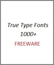 Free True Type Fonts 000+ Download