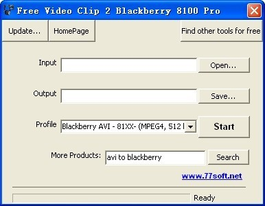 Free Video Clip 2 Blackberry 8100 Pro Download