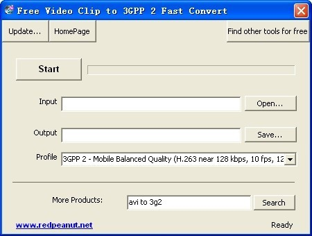 Free Video Clip to 3GPP 2 Fast Convert Download