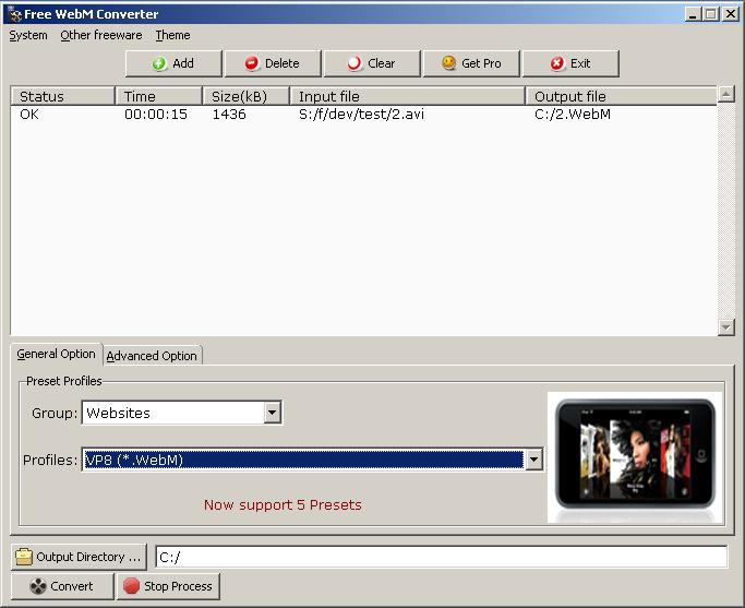Free WebM Converter Download