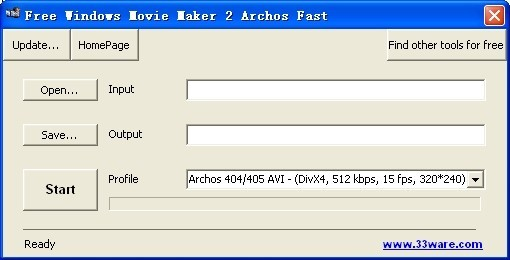 Free Windows Movie Maker 2 Archos Fast Download