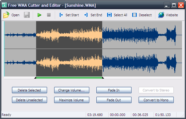 Free WMA Cutter and Editor Download
