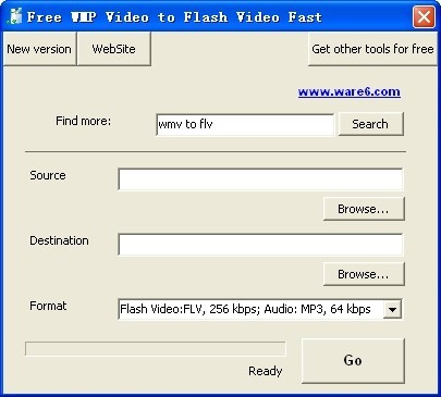 Free WMP Video to Flash Video Fast Download