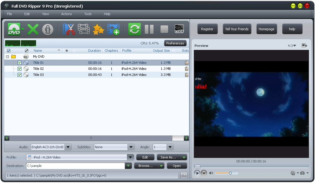 Full DVD Ripper 9 Pro Download