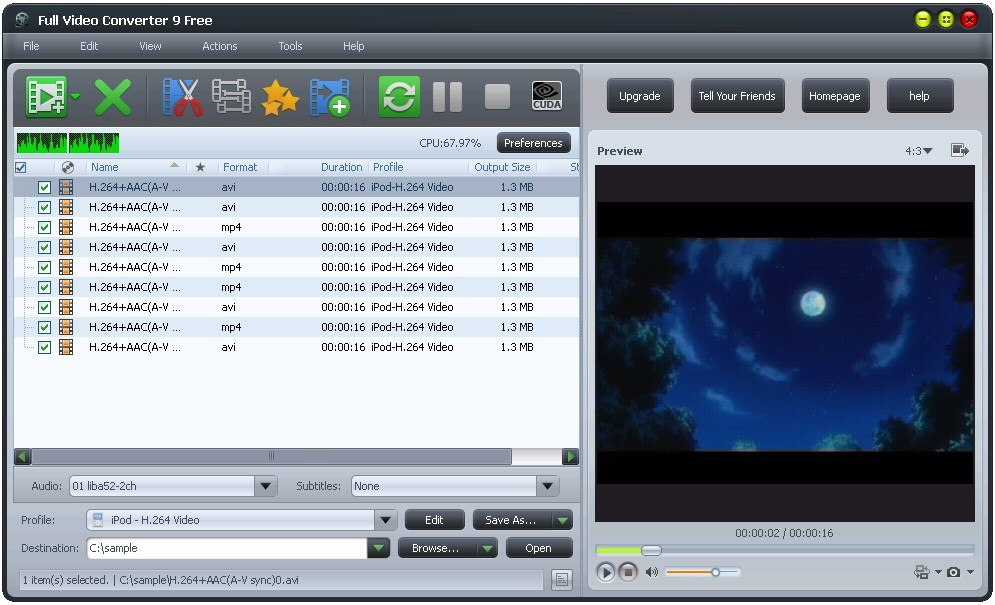 Full Video Converter Free Download