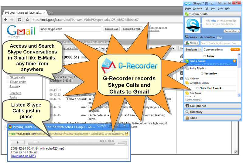G-Recorder Professional for Skype Download