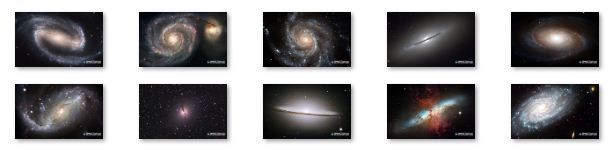 Galaxies Windows 7 Theme Download