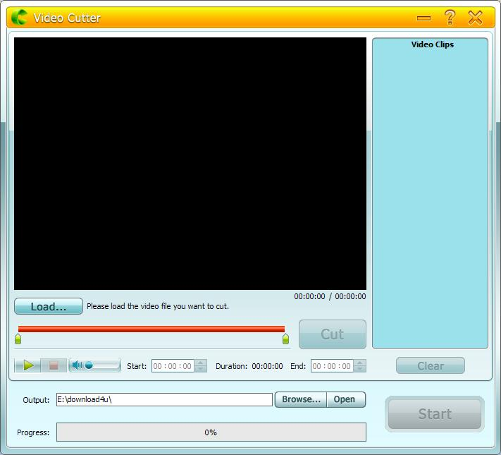 how to cut a large mp4 file