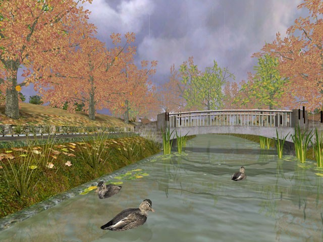 Golden Autumn 3D Screensaver Download