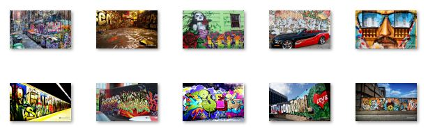Graffiti Art Windows 7 Theme Download