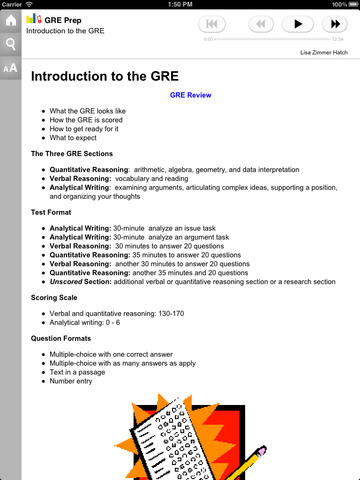GRE Prep for iPad Download