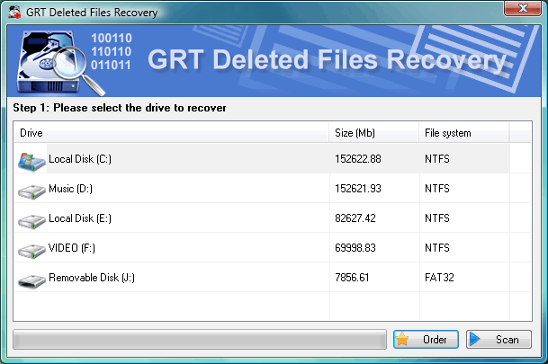 GRT Deleted Files Recovery for FAT Download