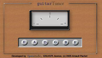 Guitar Tuner Java Applet Download