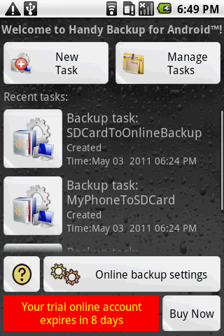 Handy Backup for Android Download
