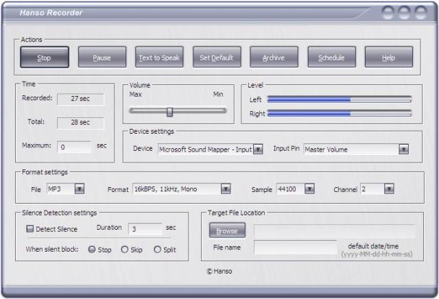 Hanso Recorder Download