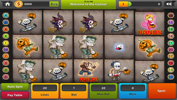 Happy Haunting Slots - Have A Very Scary Halloween Free Download