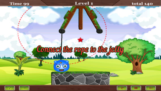 Happy Jelly Hanging Rope Game Download
