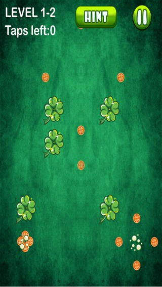 Happy St. Patrick's Day: Pot Of Gold Lucky Four-Leaf Clover Challenge Download