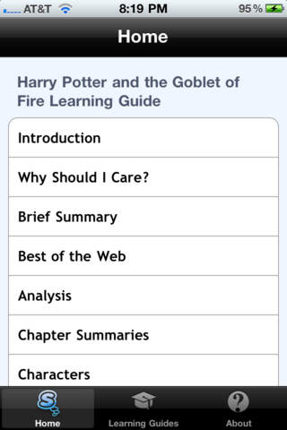 Harry Potter and the Goblet of Fire Learning Guide Download
