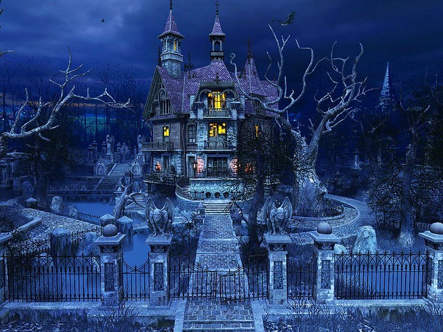 Haunted House 3D Screensaver Download