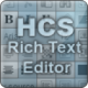 HCS Rich Text Editor Download