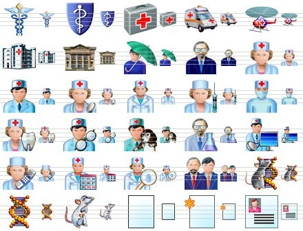 Health Care Icons Download