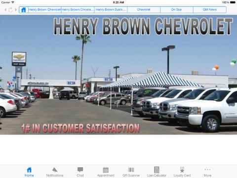Henry Brown Auto Group for iPad Download