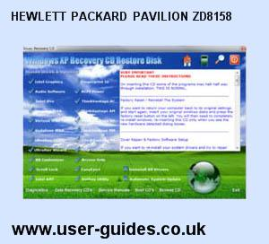 Hewlett Packard Pavilion ZD8158 Windows XP Drivers Download