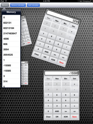 Hex Calculator Pro for iPad Download