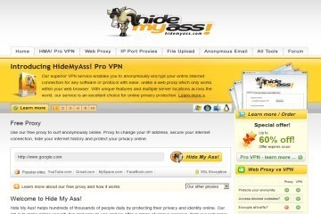 Hide My Ass! Web Proxy Download