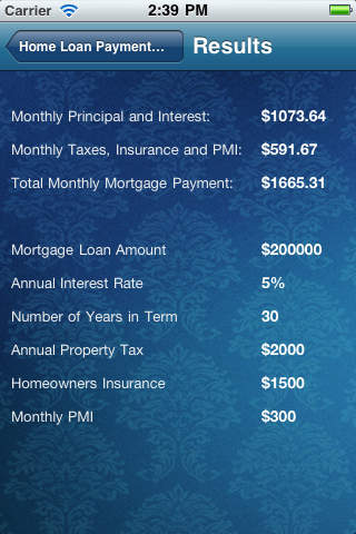 Home Mortgage Loan Payment Calculator Download