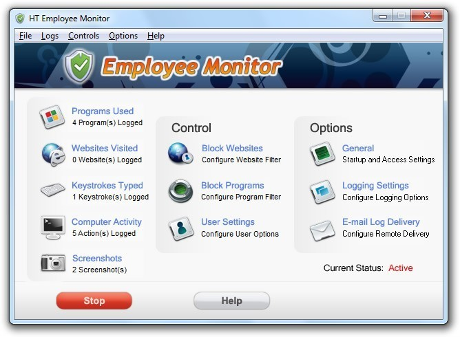 HT Employee Monitor Download