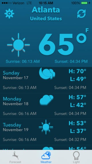 HuntCast, Hunting Forecast by DataSport, inc Download