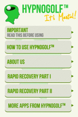 Hypno Golf - Rapid Recovery Download