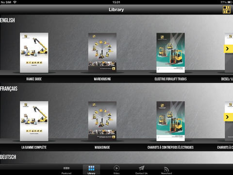 Hyster EMEA Product Library Download