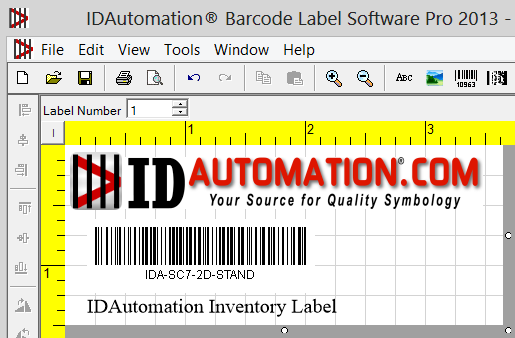 IDAutomation Barcode Label Pro Software Download