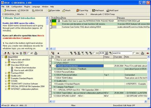 Screenshot Review Downloads Of Freeware Idea Free Edition