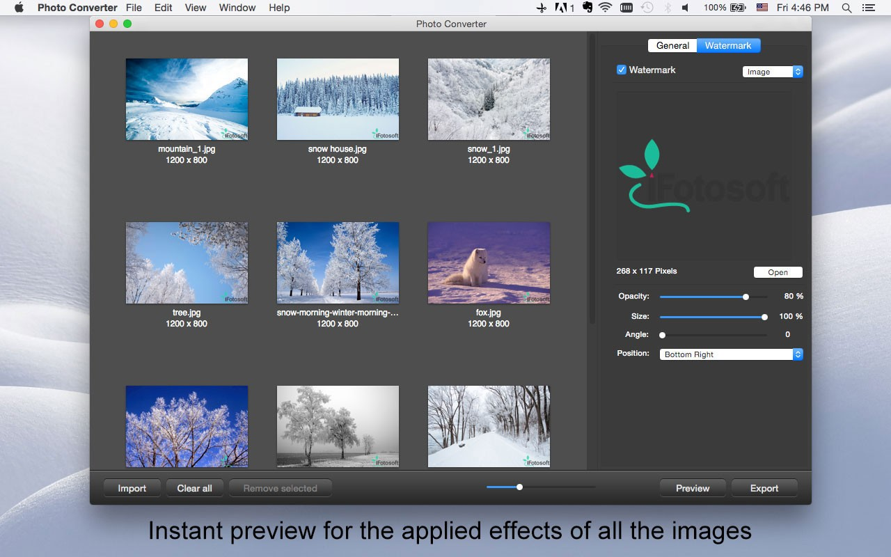 iFotosoft Photo Converter Free for Mac Download