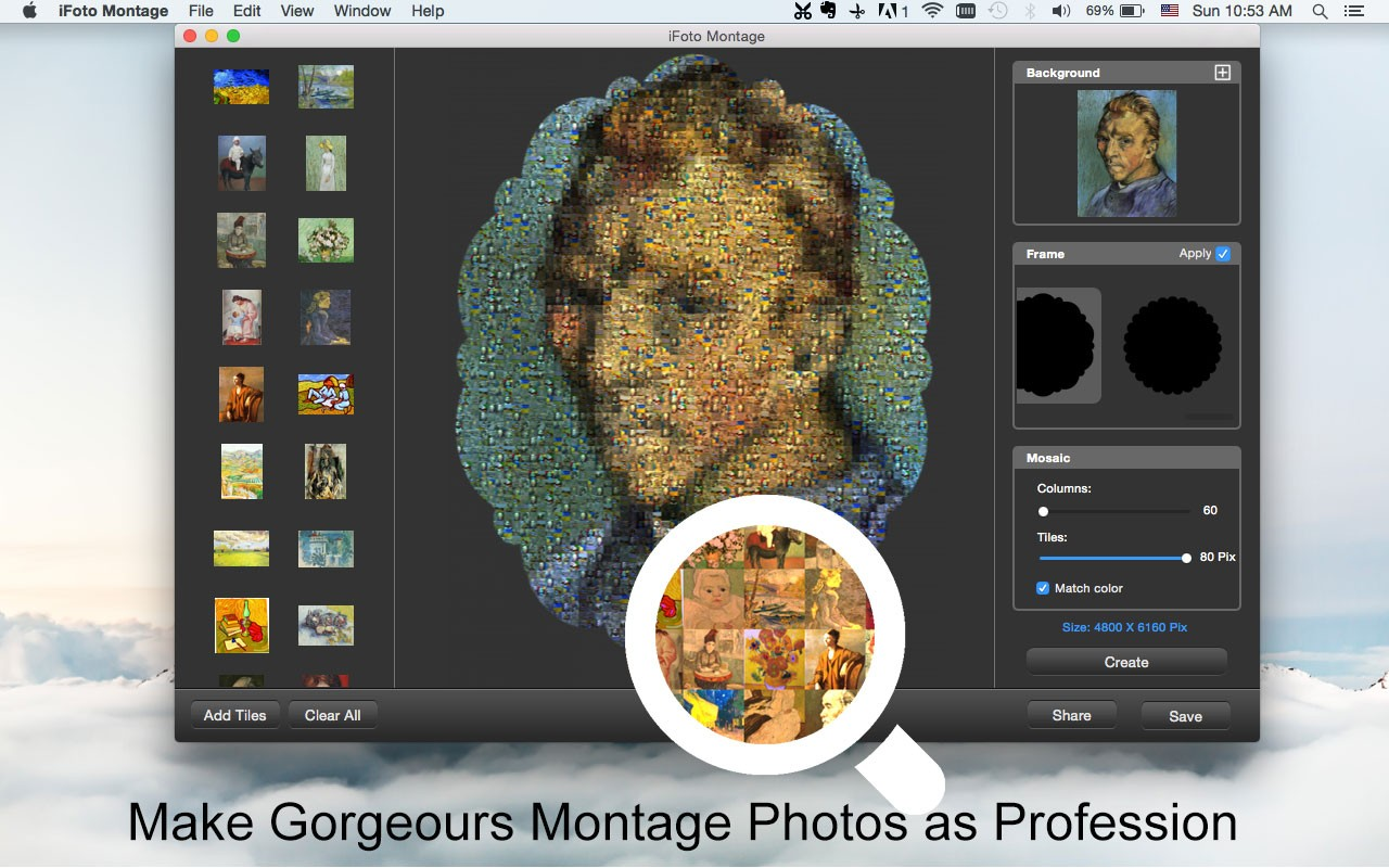 iFotosoft Photo Montage for Mac Download