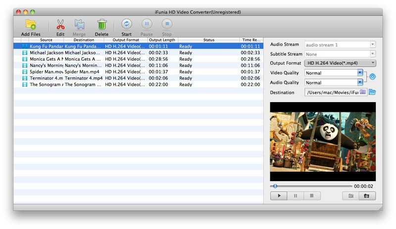 iFunia HD Video Converter for Mac Download