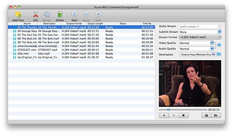 iFunia MKV Converter for Mac Download