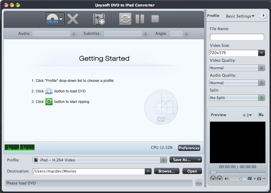 iJoysoft DVD to iPad Converter for Mac Download